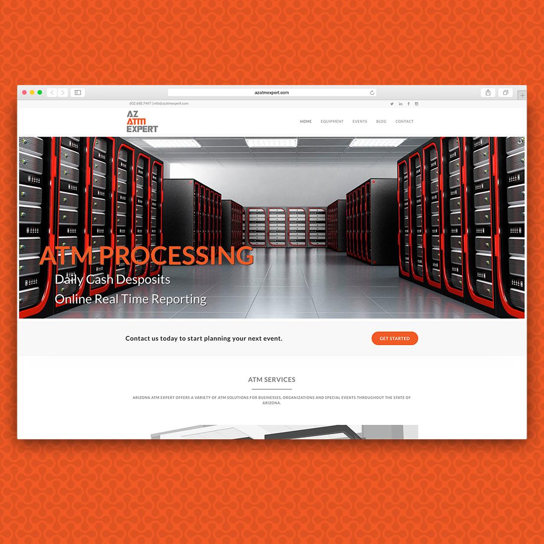 AZ ATM Experts Website Home Page